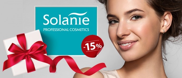 Happy Women's day! Give Solanie products and save 15%!
