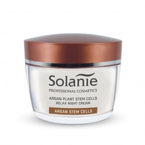 Solanie Argan plant stem cells Relax night cream 50 ml