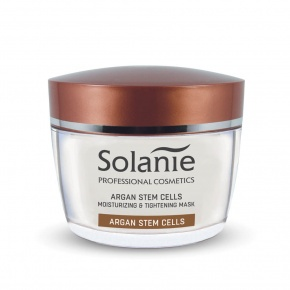 Solanie Argan plant stem cells Moisture moisturizing & tightening mask 50 ml