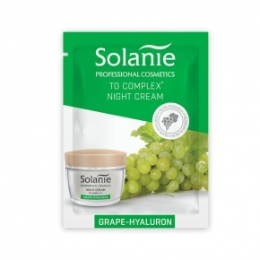 Solanie Sample Grape-hyaluron night cream with TO Complex 3ml