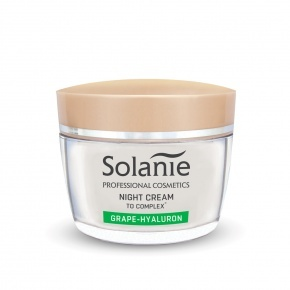 Solanie Grape-hyaluron night cream with TO Complex 50 ml