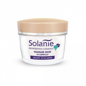 Solanie Grape-hyaluron massage mask with TO Complex 50 ml